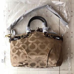 Coach Bags - Coach Madison Op Art Sateen Sophia Satchel Bag